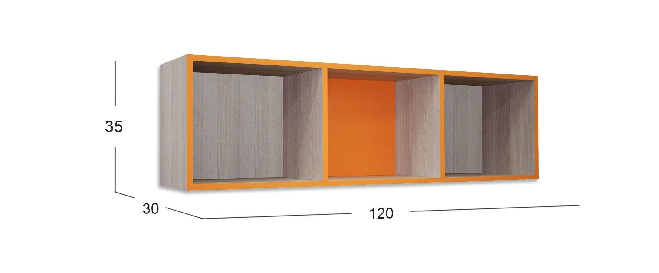 Полка для книг Скейт-3 Модель 507