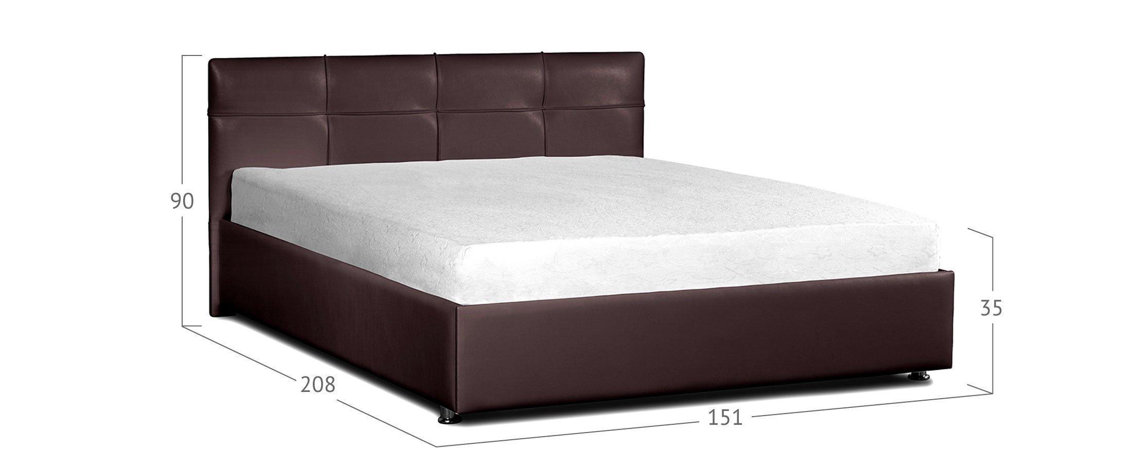 Кровать двуспальная Птичье гнездо Модель 381